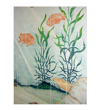 Santa Barbara bathroom ceramic tiles