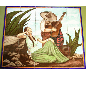 Santa Barbara handmade ceramic tiles